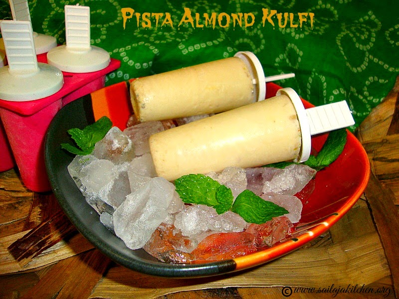 images for Kulfi Recipe / Easy Kulfi Recipe / Pista Almond Kulfi / Indian Ice Cream Kulfi