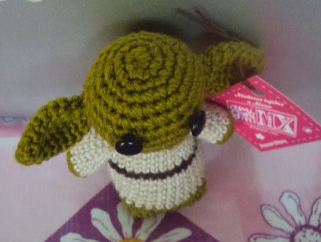 Amigurumi Yoda Patron : Mi mundo: Amigurumi MX: Patron Gratuito: Yoda