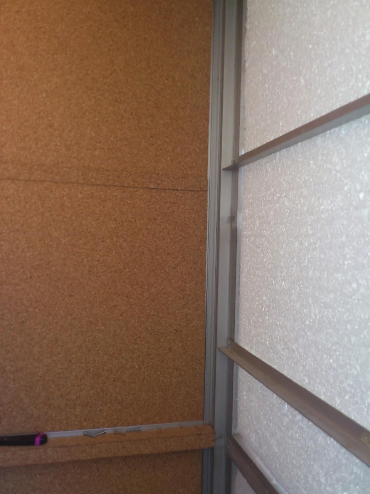 Corcho para aislar del frio transportes de paneles de madera - Aislar paredes termicamente ...