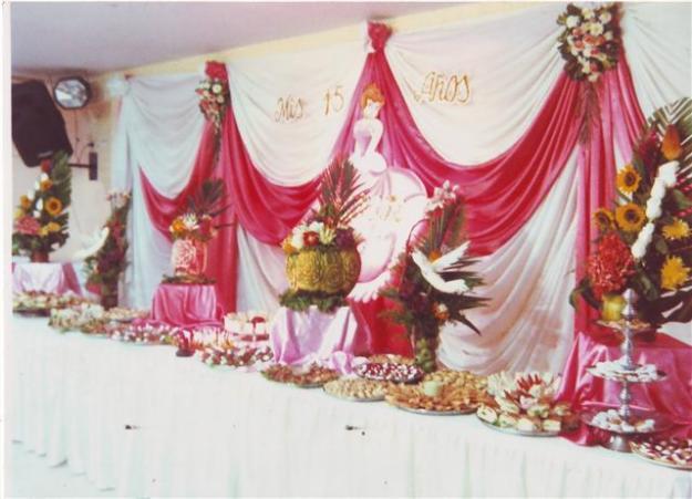 Tallados De Frutas Y Verduras Buffet Para Fiestas De 15 Anos - Decorados-para-fiestas