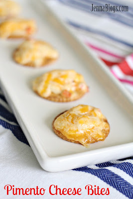 Jenna Blogs: Pimento Cheese Bites
