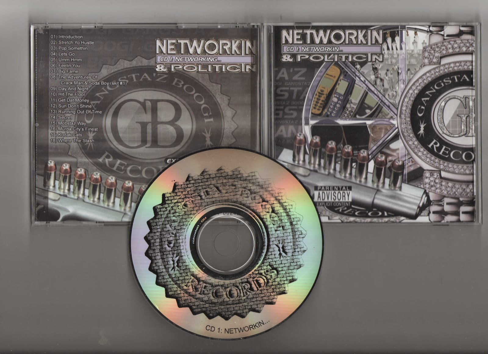 Gangstaz Boogi - Networkin And Politicin