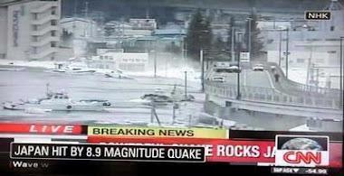 CNN dan Info Tsunami di Jepang