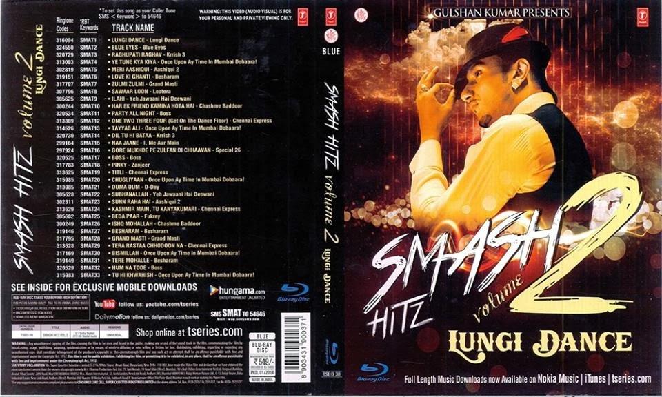 Smash Hitz Volume 2 (Video Songs) - 1080p - BluRay - x264 - DTS HD-MA [Team BCR] - Multi-Links