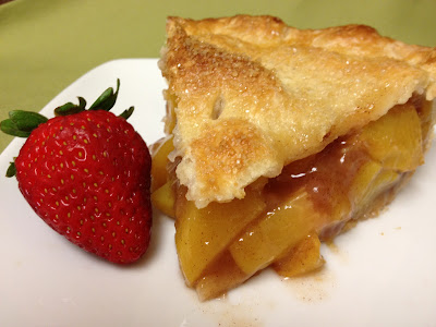 Peach-Bourbon Pie
