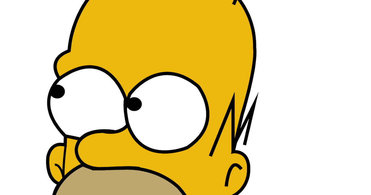 Thiago ros rio portfolio homer simpson vetorizar - Homer simpson tout nu ...