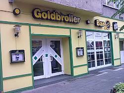 Goldbroiler-Gaststätte in der Magdeburger Allee