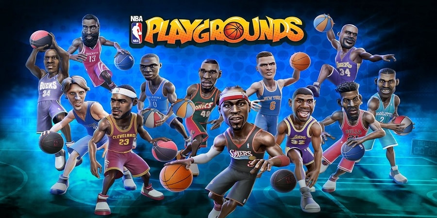 NBA Playgrounds Torrent Imagem