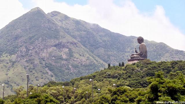 Gran Buda sentado de Tian Tan en Hong Kong