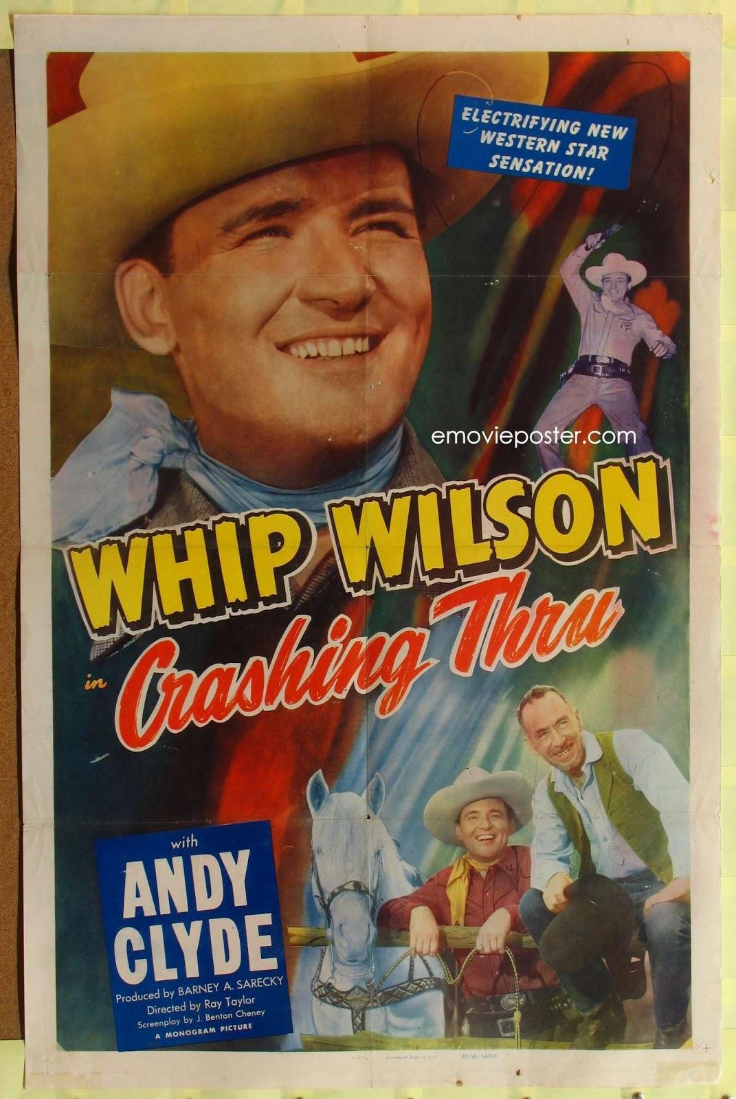 Whip Wilson FACINORAS DE NEVADA Nevada
