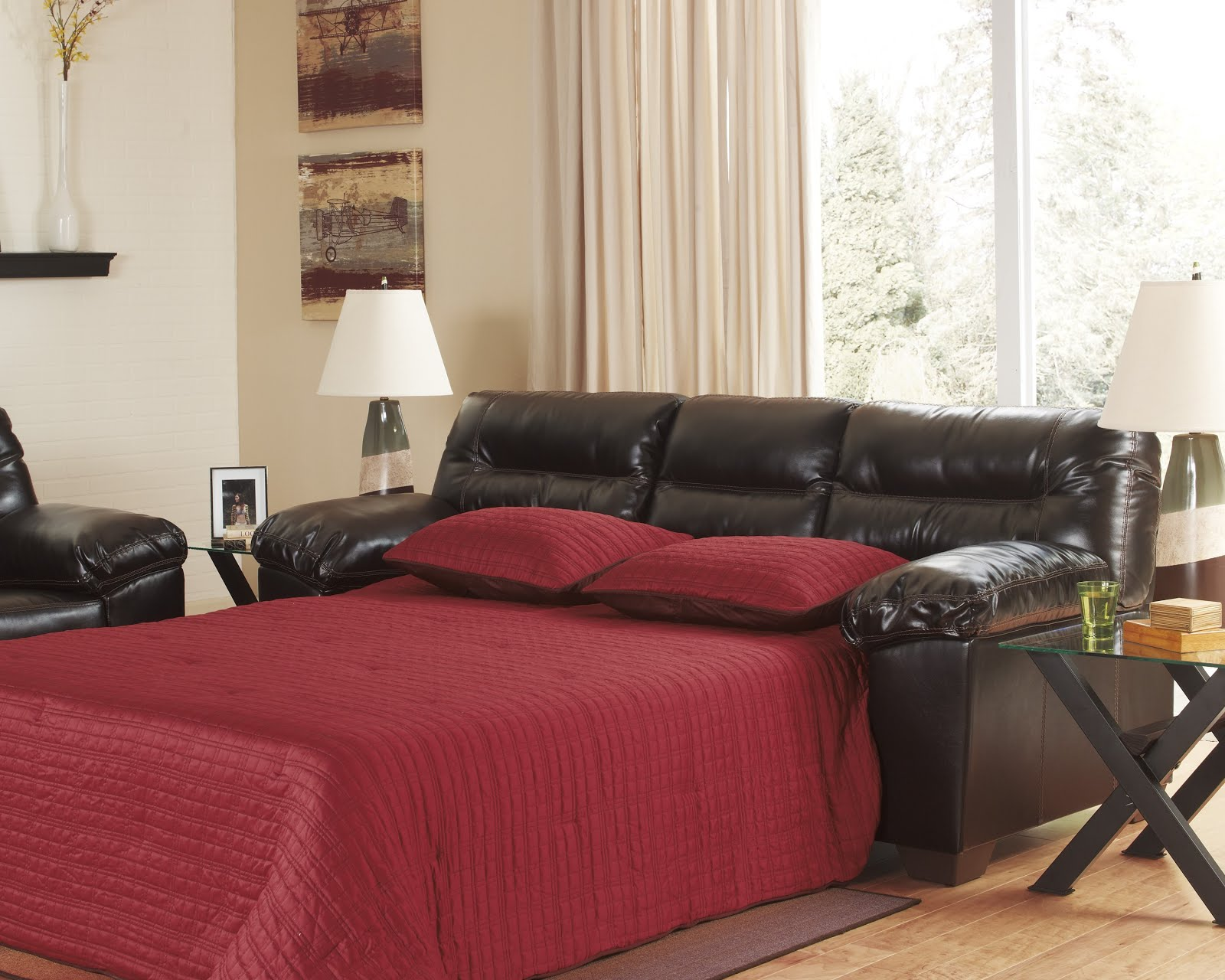 Simple Review About Living Room Furniture: Sleeper Sofas For Small ...