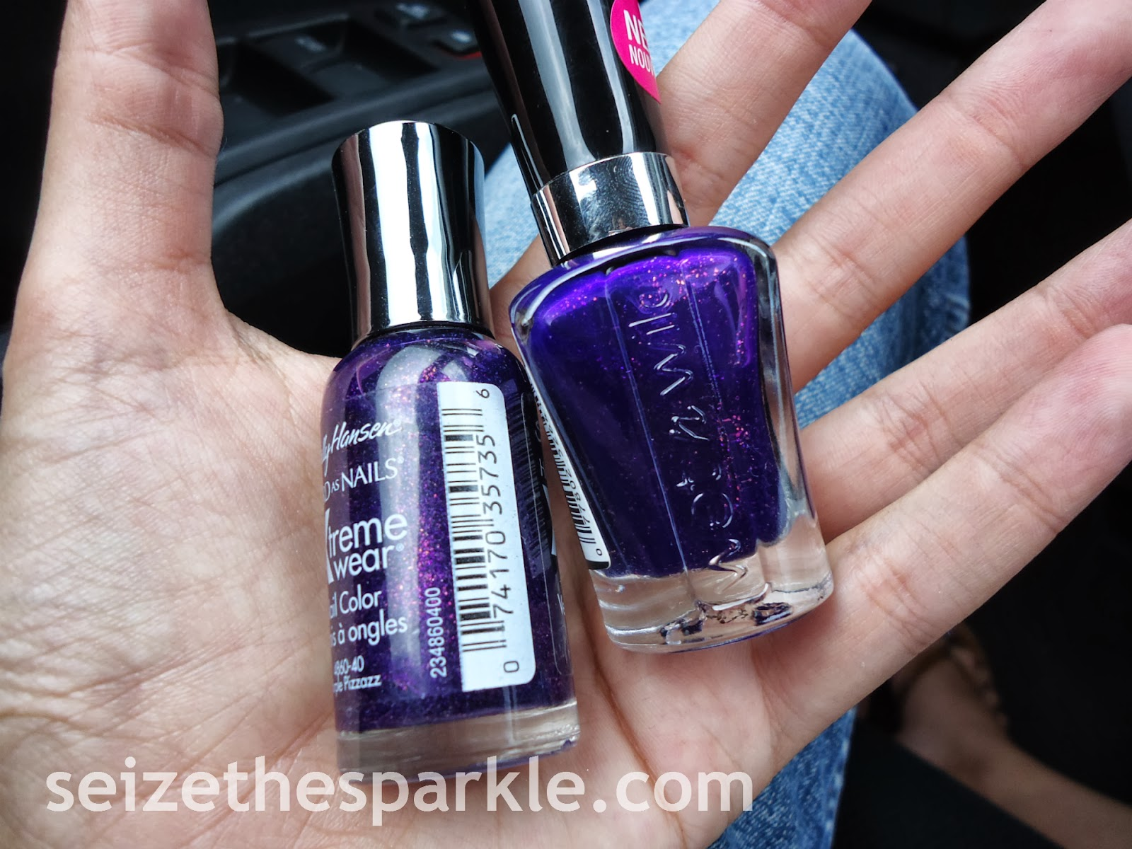 Sally Hansen Purple Pizazz Dupe Alert
