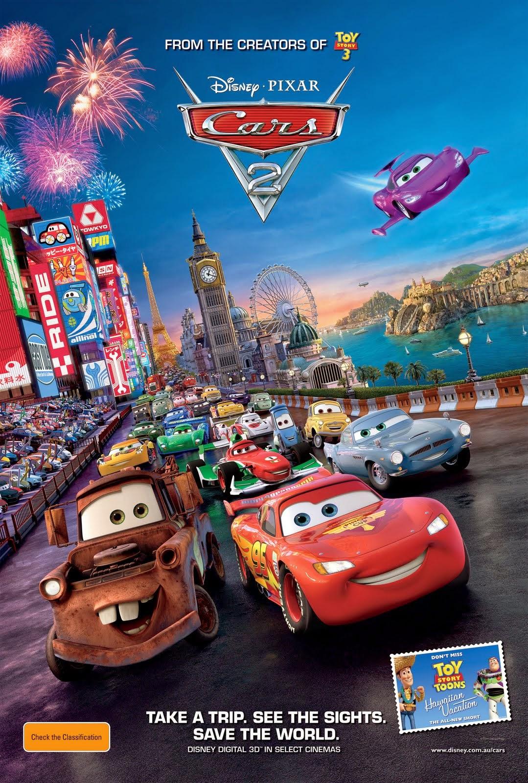 Cars 2 (2011) μεταγλωτισμενο tainies online oipeirates