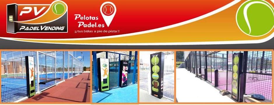 Máquinas expendedoras de botes de pelotas de Padel y Tenis | Fabricantes | Padel Vending