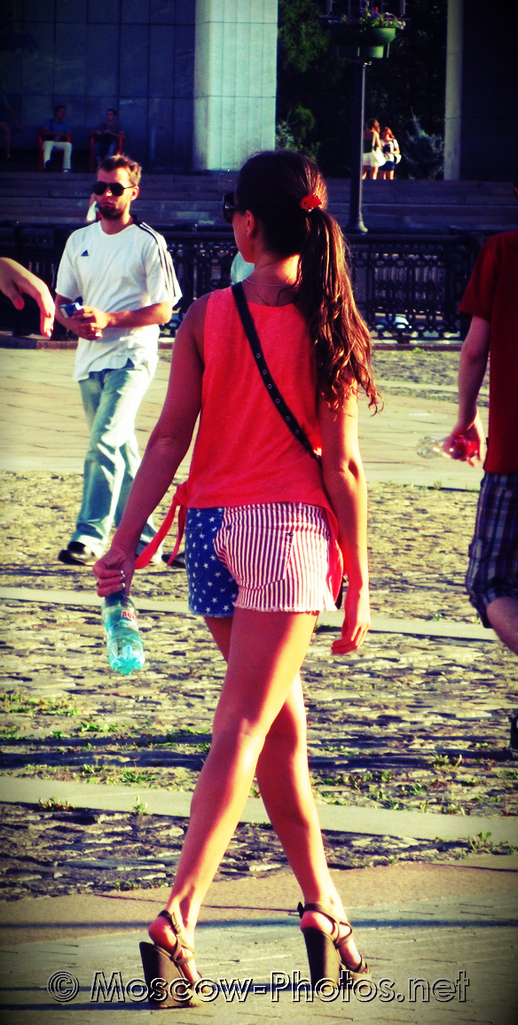 Cool Moscow Girl and Summer