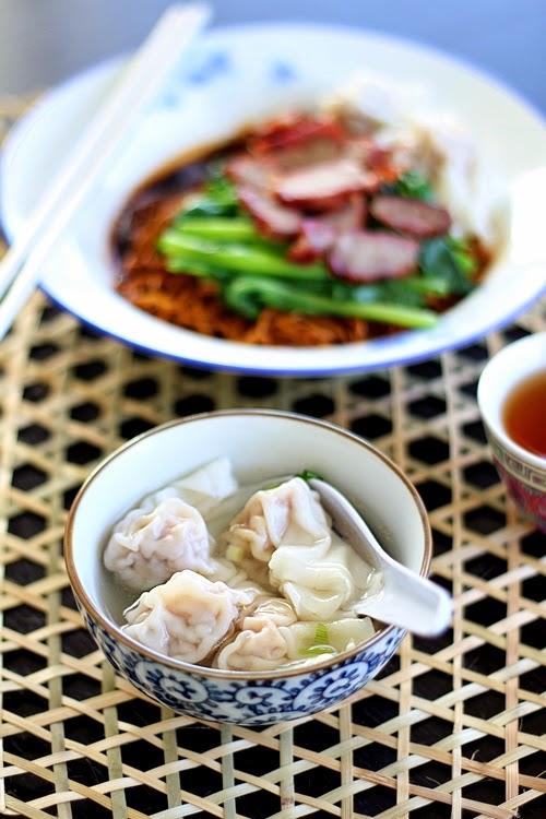 [Malaysian Recipes] Wonton Noodles (Wantan Mee) - All ...