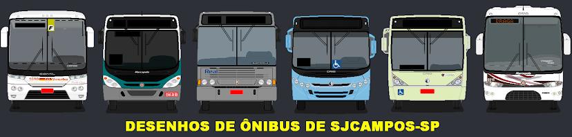 Desenhos de ônibus de SJCampos