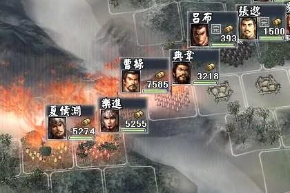 三國志11 __ 194 呂布開局──固守濮陽大作戰