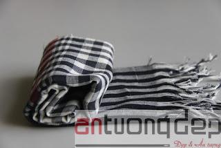 may bán khăn rằn