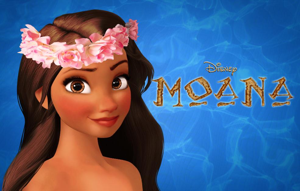 Favoritos Amo Desenhos Disney: Princesa Moana KV06