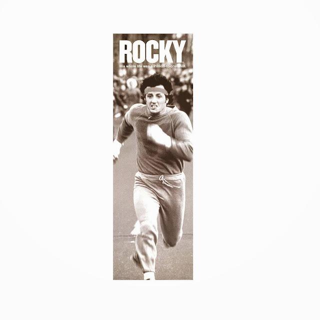 Poster Rocky corriendo