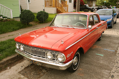 1962 Mercury Comet Custom sedan.