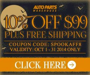 Auto Parts Warehouse 10% off Coupon code
