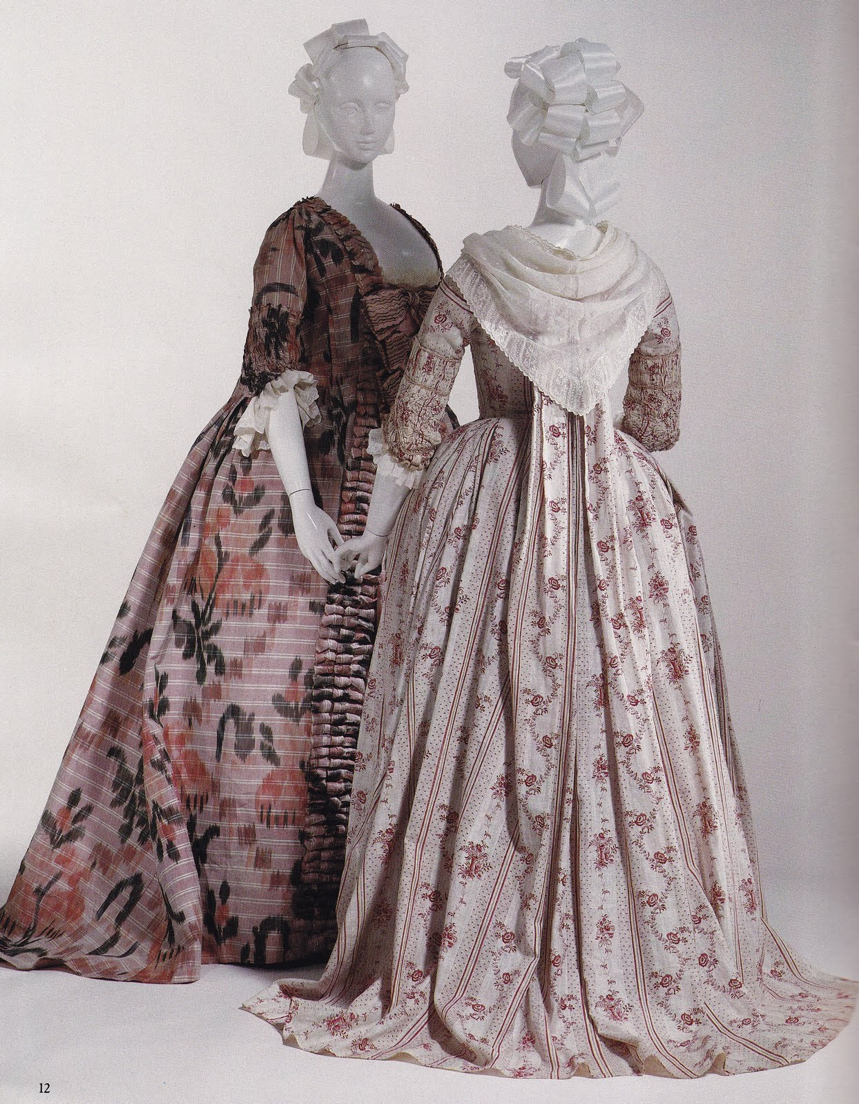 Women s Fashion After the Fall of New France (1760s to 1780s) All Fashion 18th century new france