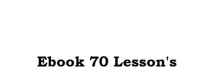 70 lessons