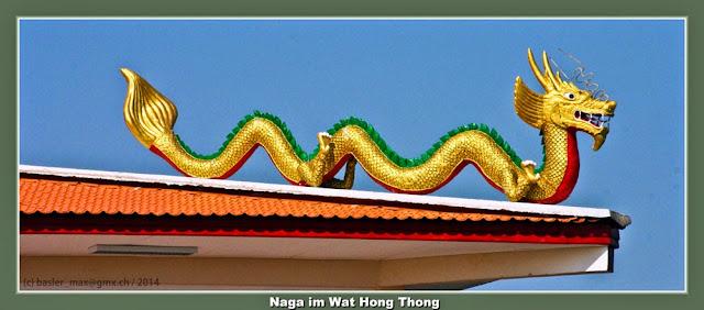 Buddhismus, Tempel, Wat, Hong Thong, Naga, Tempel-Wächter