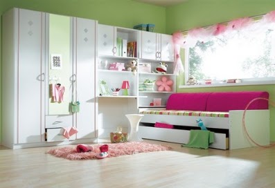 ideas para pintar y decorar dormitorios de chicas