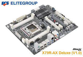 Mainboard Terbaru ECS X79R-AX Deluxe Support Sandy Bridge-E