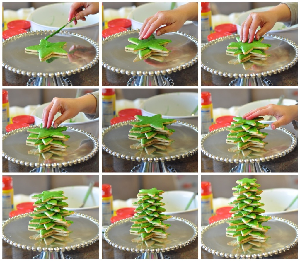 3D Cookie Christmas Tree Tutorial