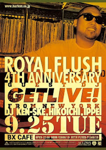 ROYAL FLUSH 4TH ANNIVERSARY SPECIAL @ BX Cafe, Shibuya
