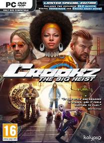 Crookz The Big Heist-CODEX Pc Games-cover