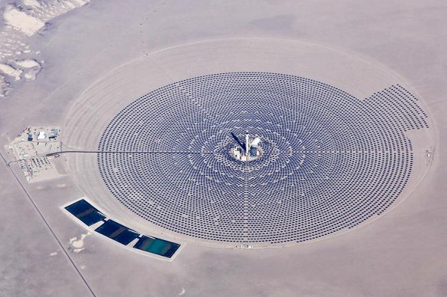 Солнечная электростанция США