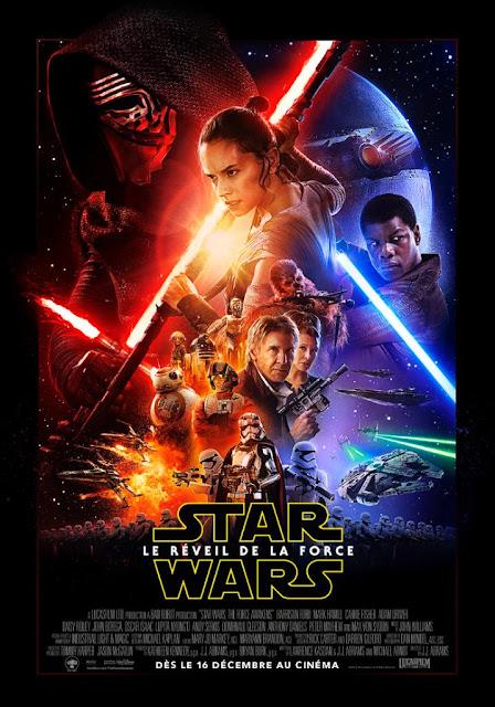 Starwars L'affiche officielle du film dévoilée