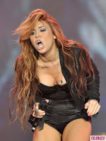 best Miley Cyrus pictures on music concert 02