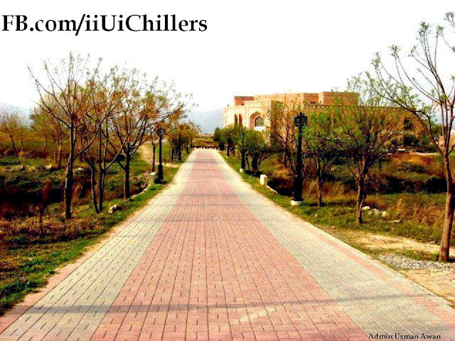 IIUI Library Track Autumn View ~ IIUI Chillers