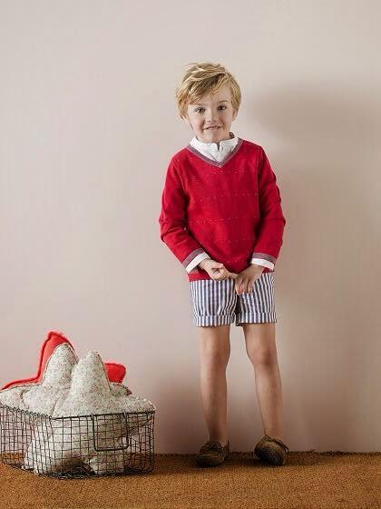 Nanos moda infantil - Conjunto niño estilo náutico