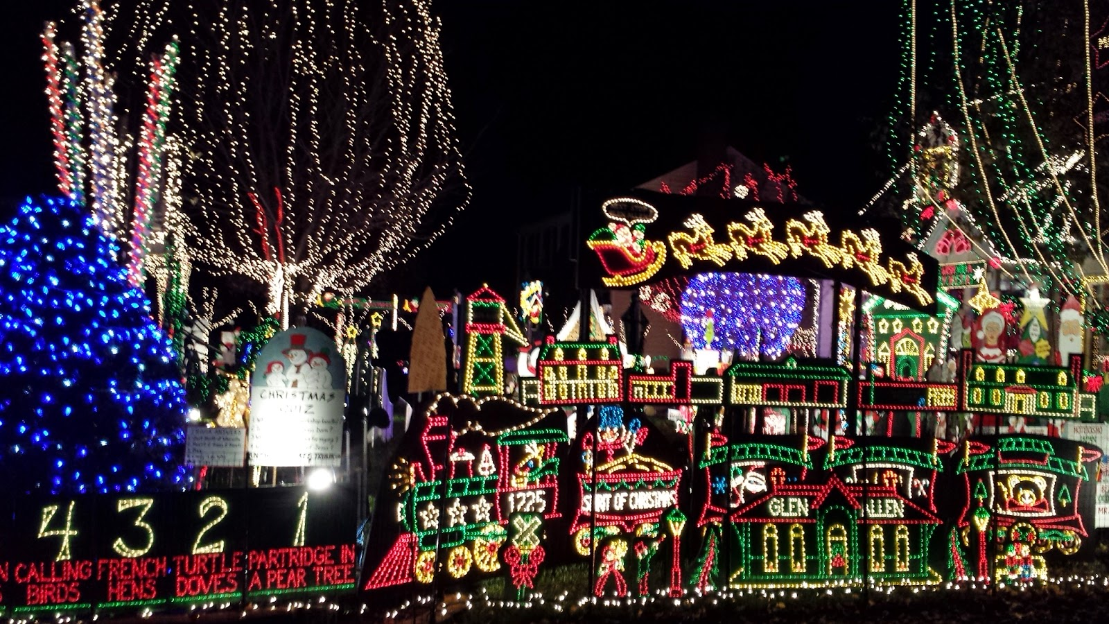 we saw a tv show about extreme christmas light displays and this was one of the homes highlighted in the program naturally since its relatively close - How To Program Christmas Lights