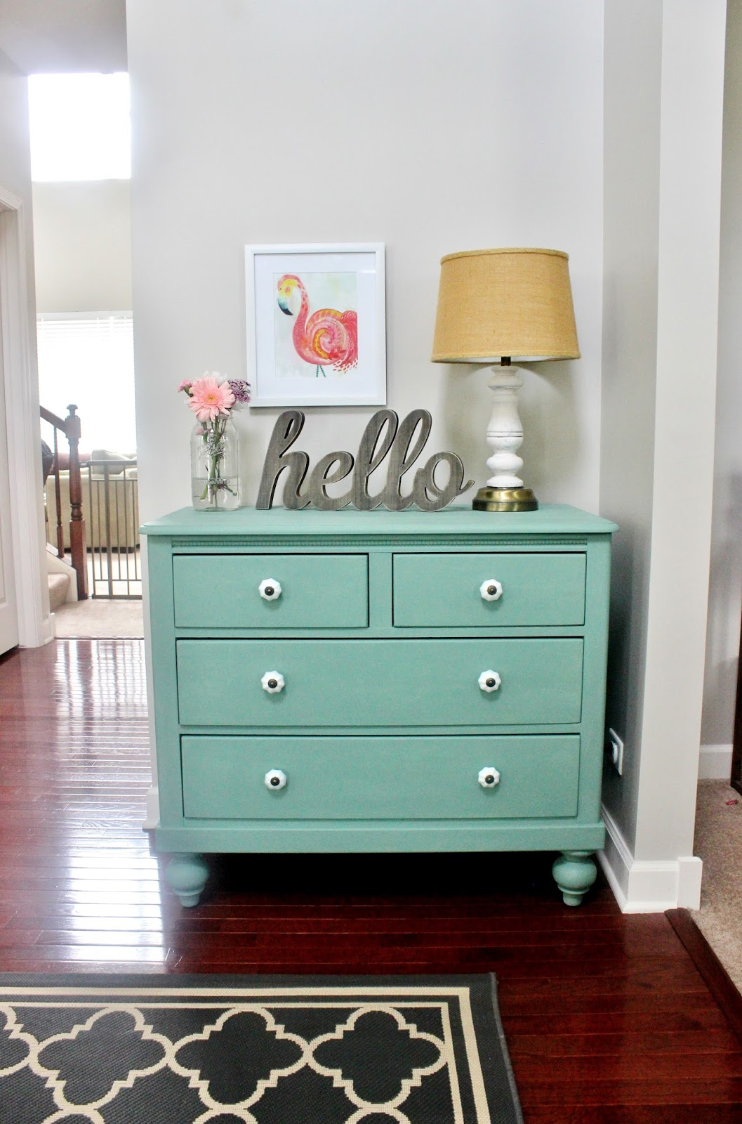 Meet pearl chalk paint dresser makeover delightfully noted for Ideas for painting a dresser