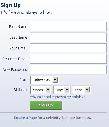 how to show date of birth in facebook