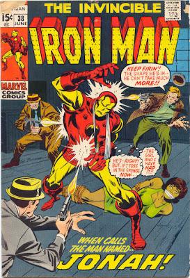 Iron Man #38, Sal Buscema