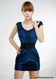 Cute model Ada Liu Yan