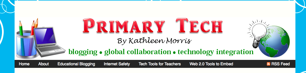 screenshot of Mrs. Morris Blog