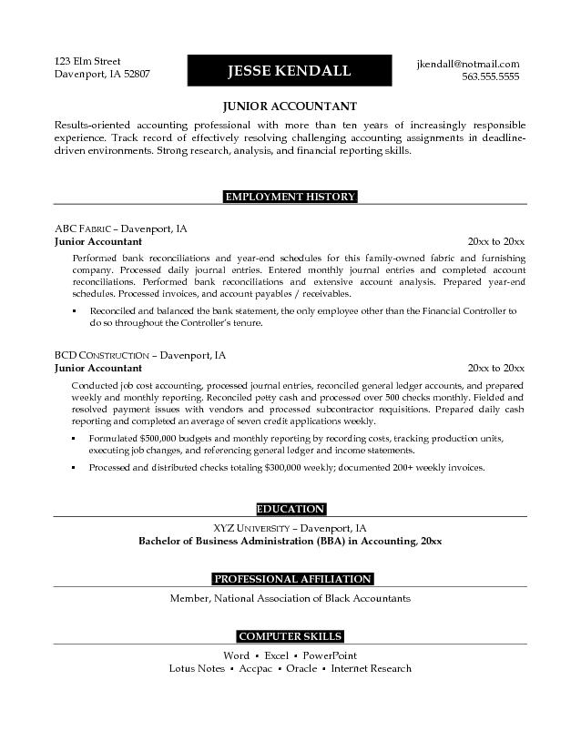 accountant l picture accountant cv
