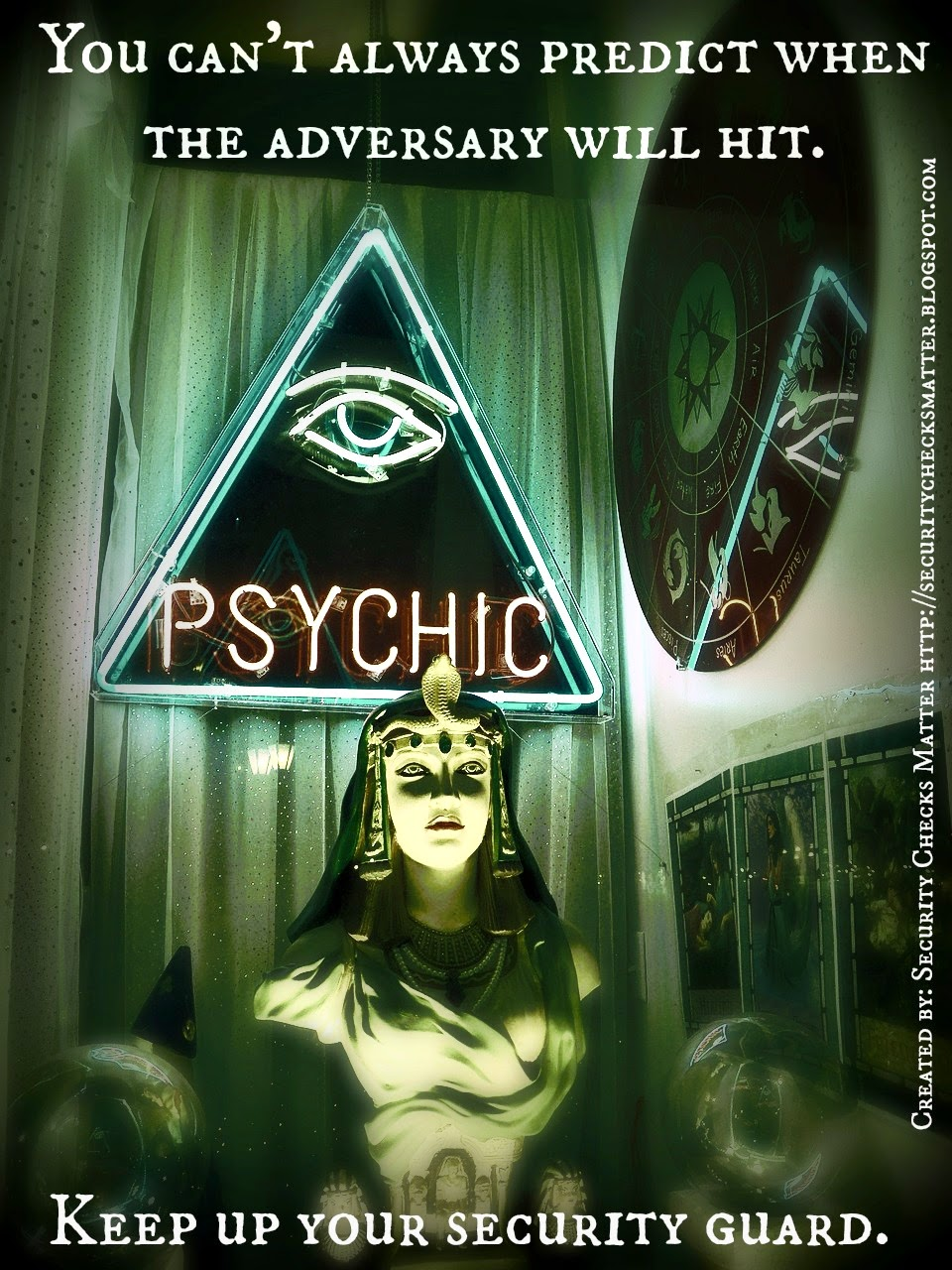 psychic security poster