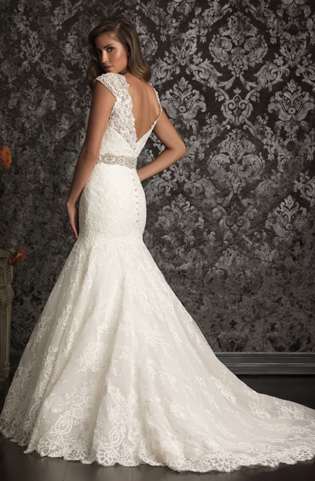 allure lace wedding dresses