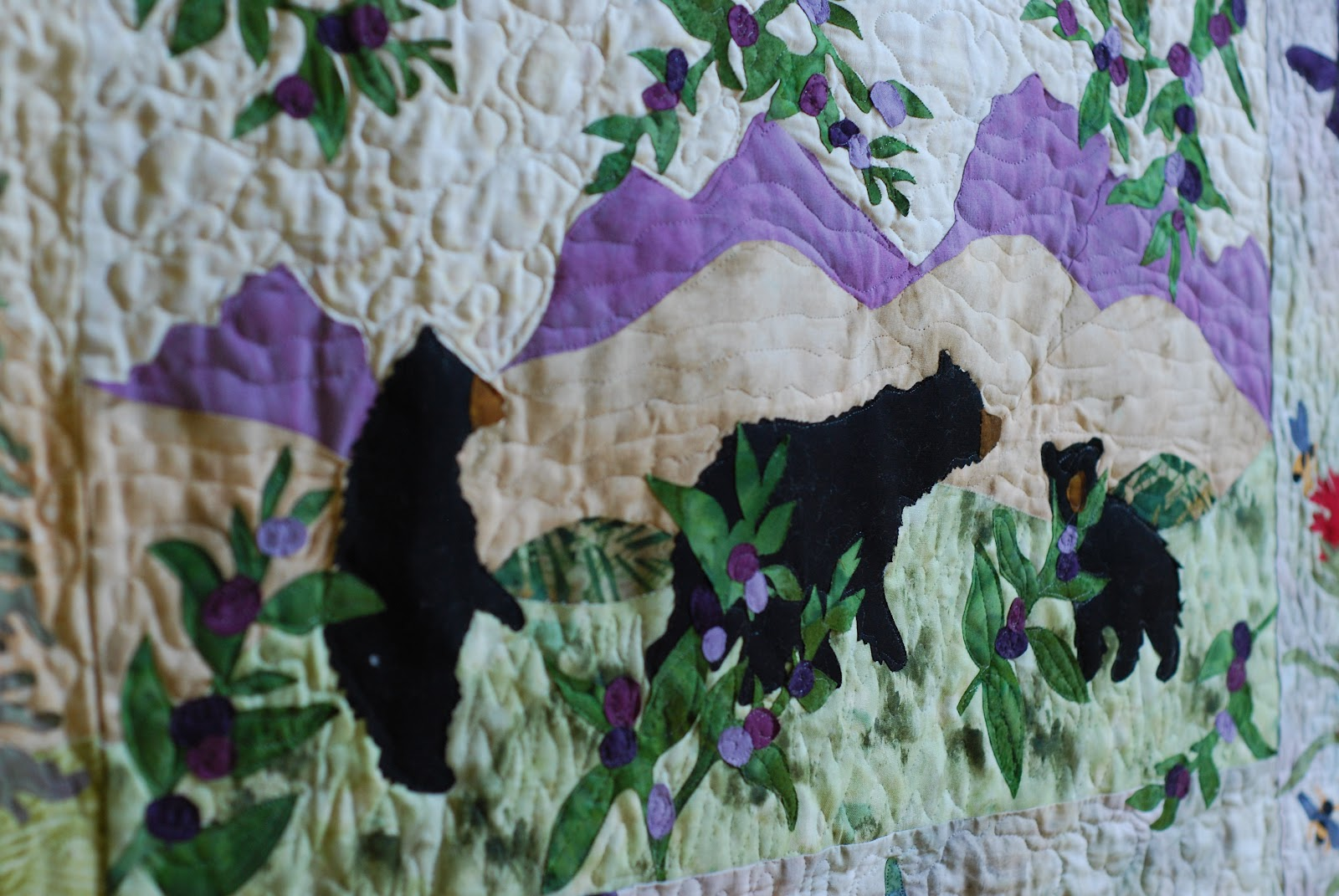 Crafty Garden Mom Fo Finally At Home In The Woods Quilt